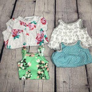 Newborn Baby Girl Summer Outfit Bundle